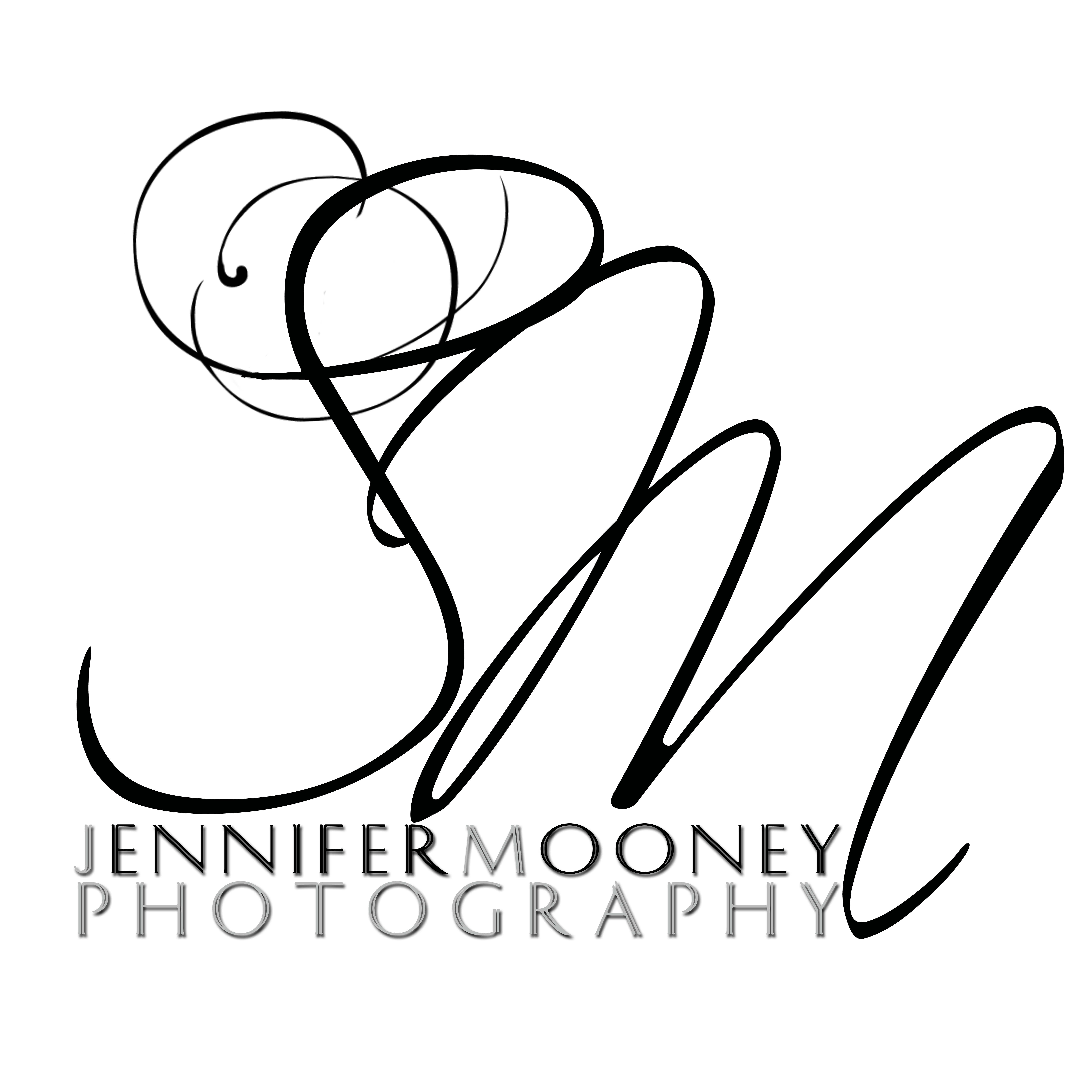 ... Wedding Photographer : New Logo Design : Jennifer Mooney Photography